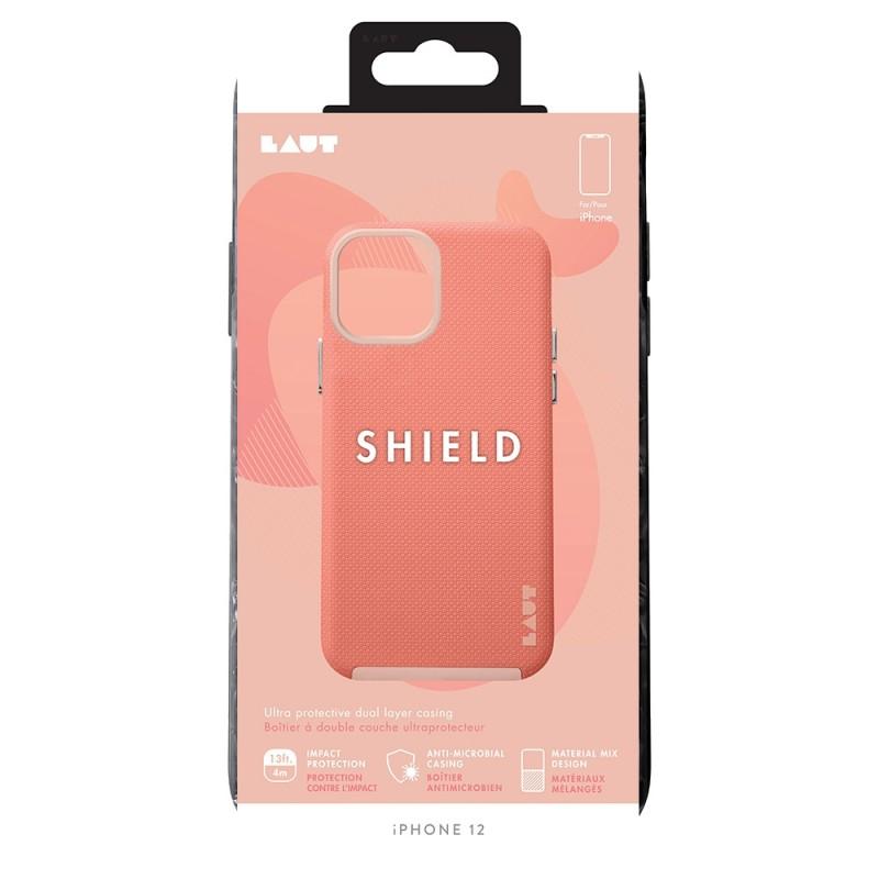 LAUT Shield Case iPhone 12 Pro Max Roze - 3