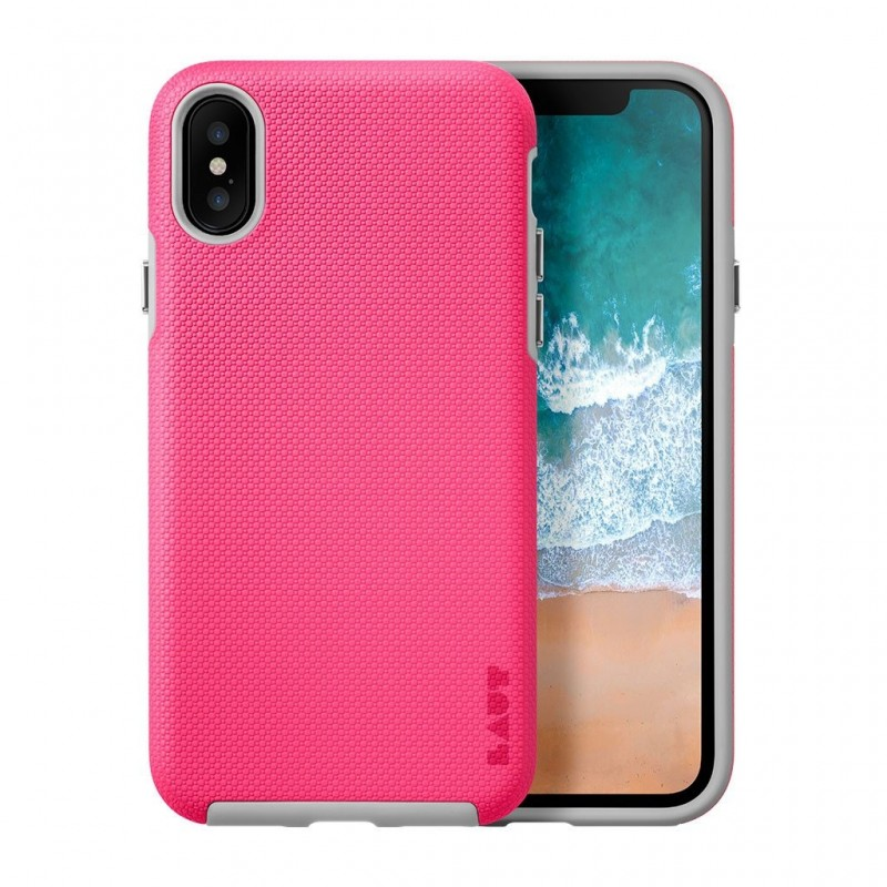 LAUT Shield iPhone X/Xs Pink - 1