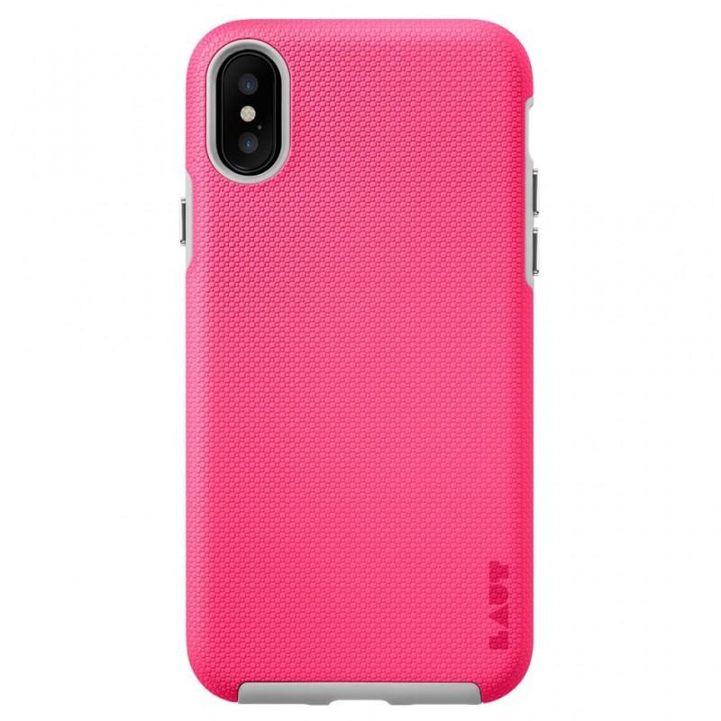 LAUT Shield iPhone X/Xs Pink - 3