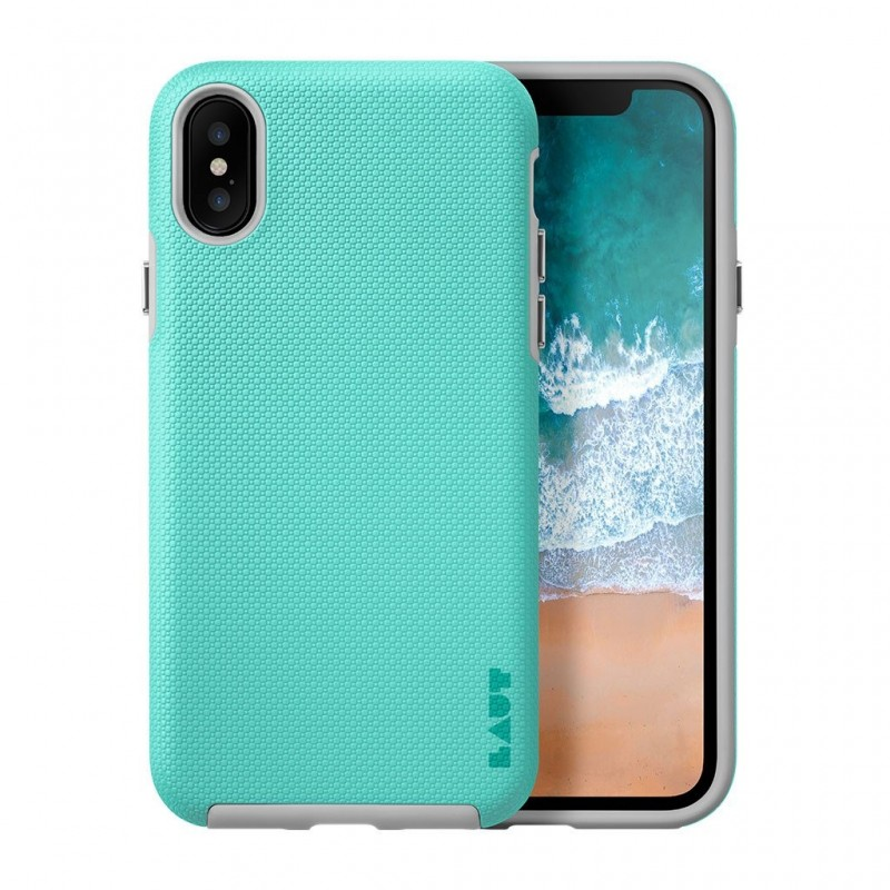 LAUT Shield iPhone X/Xs Mint Green - 1
