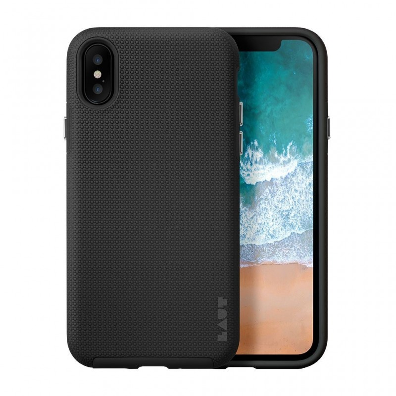 LAUT Shield iPhone X/Xs Black- 1