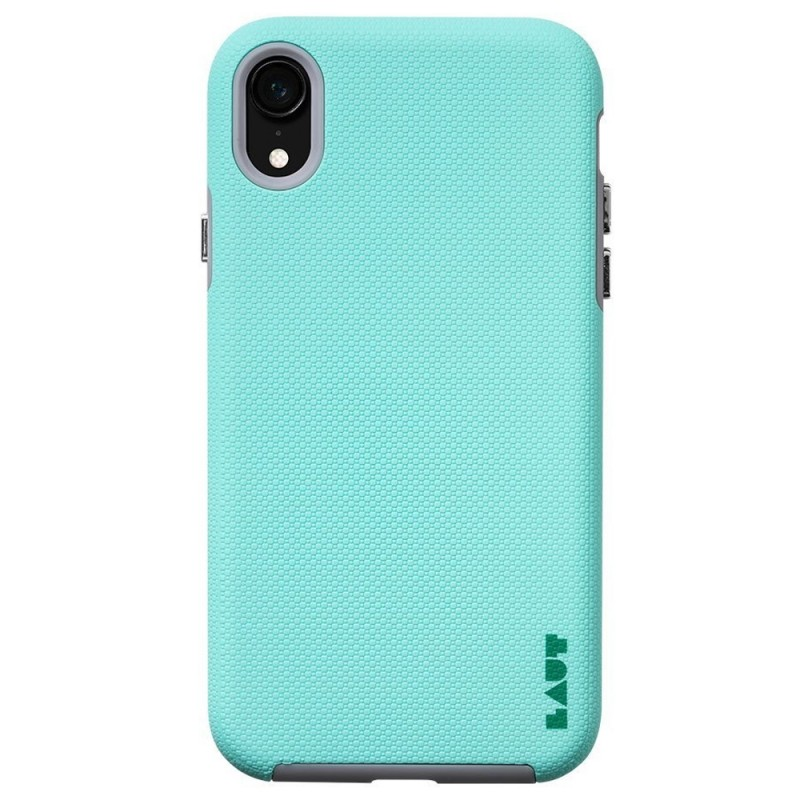 LAUT Shield iPhone XR Hoesje Mintgroen 03