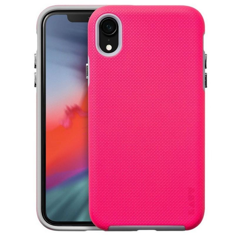 LAUT Shield iPhone XR Hoesje Roze 01
