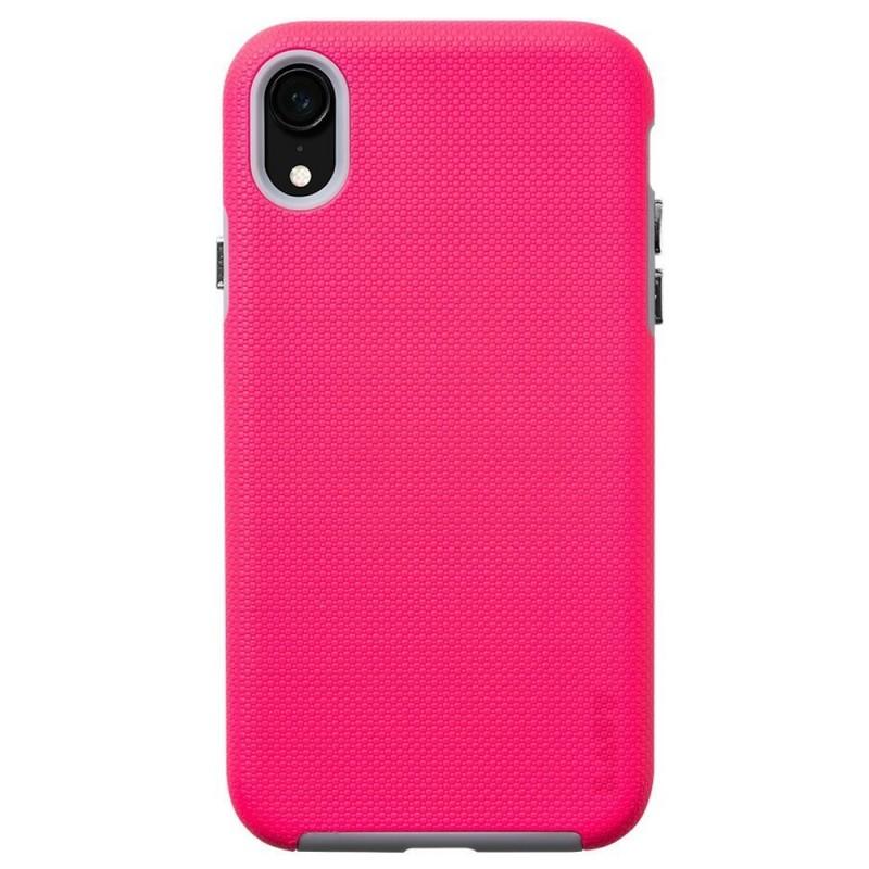LAUT Shield iPhone XR Hoesje Roze 03
