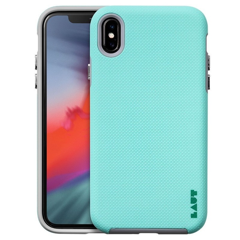 LAUT Shield iPhone XS Max Case Mint groen 01