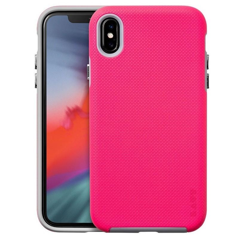 LAUT Shield iPhone XS Max Case Roze 01