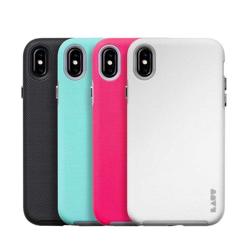 LAUT Shield iPhone XS Max Case Roze 04