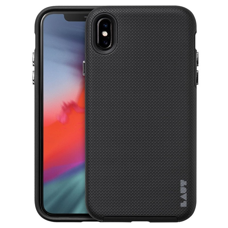 LAUT Shield iPhone XS Max Case Zwart 01