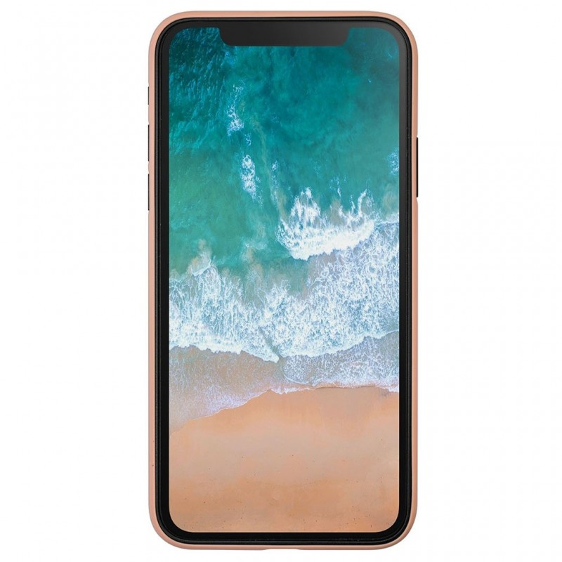 LAUT SlimSkin iPhone X/Xs Coral Pink - 3