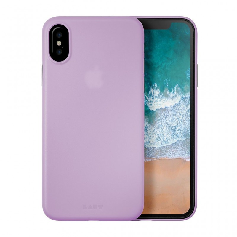 LAUT SlimSkin iPhone X/Xs Violet Purple - 1