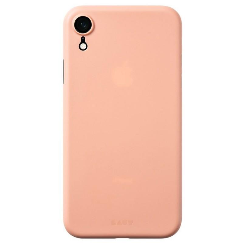 LAUT SlimSkin iPhone XR Roze 03