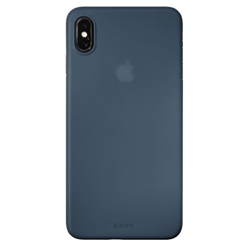LAUT SlimSkin Flinterdun iPhone XS Max Hoesje Dark Teal 03