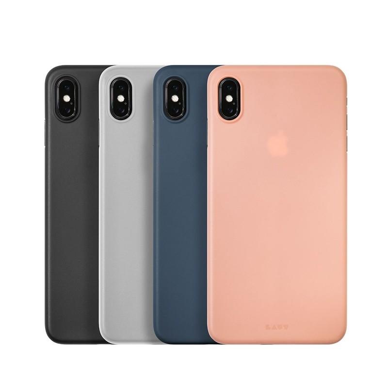 LAUT SlimSkin Flinterdun iPhone XS Max Hoesje Transparant 04