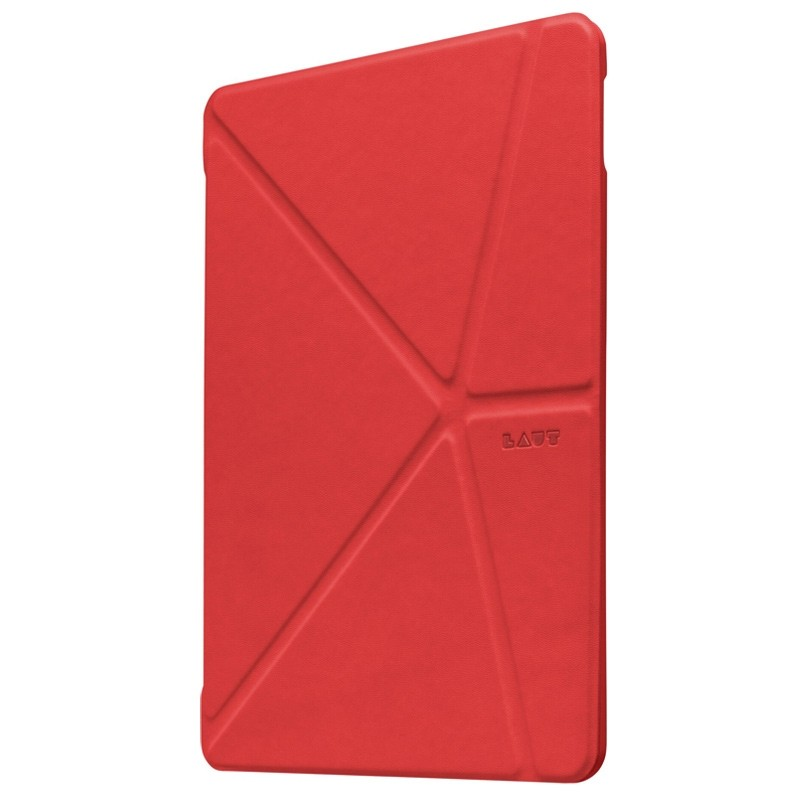 LAUT - Trifolio hoes voor iPad Air 10.5 (2019), iPad Pro 10.5 Red 01