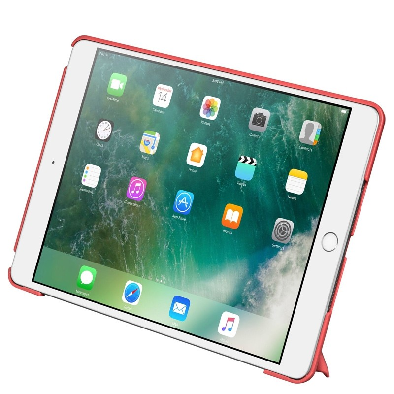 LAUT - Trifolio hoes voor iPad Air 10.5 (2019), iPad Pro 10.5 Red 02