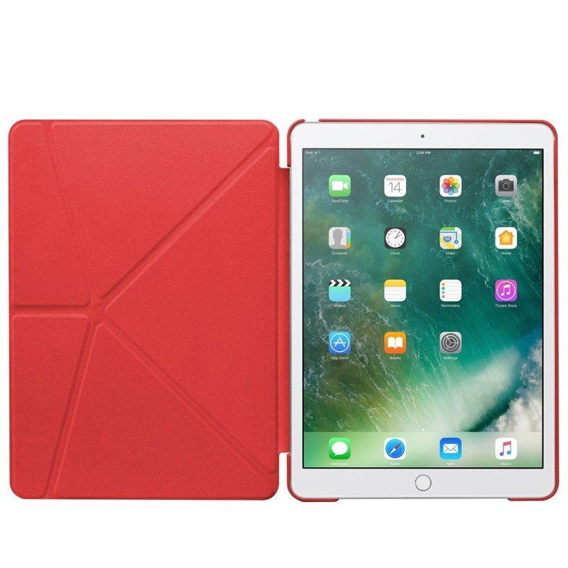 LAUT - Trifolio hoes voor iPad Air 10.5 (2019), iPad Pro 10.5 Red 03