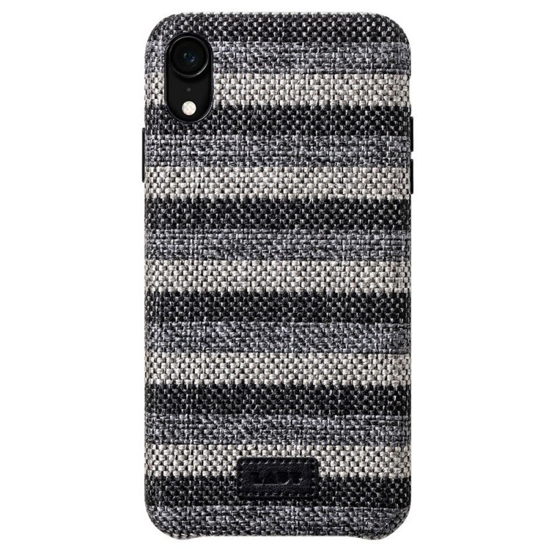 LAUT Venture Case iPhone XR Zwart Grijs 03