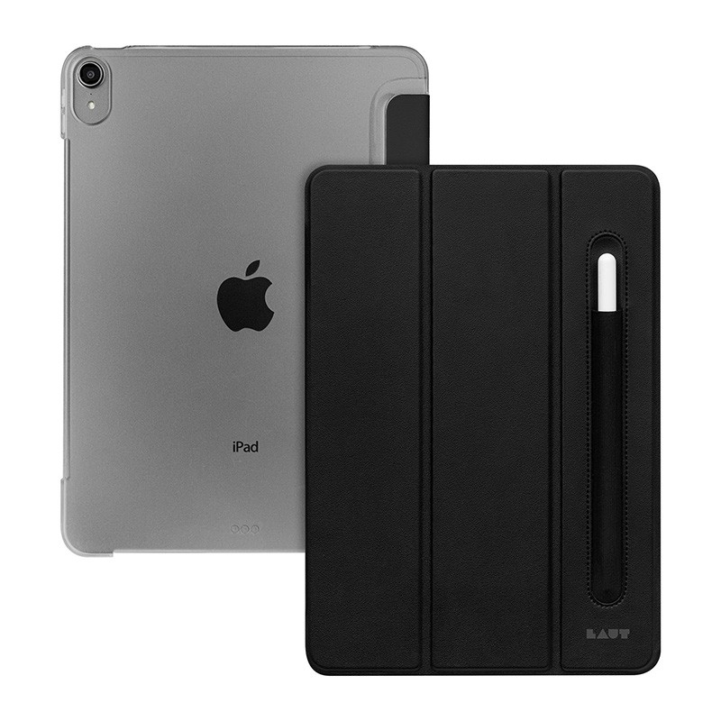 LAUT HUEX iPad Air 10.9 (2020) Hoes Zwart 02