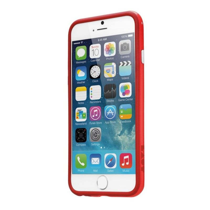 LAUT Loopie  iPhone 6 Plus Red - 2