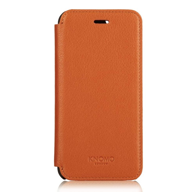 Knomo Leather Folio iPhone 6 Plus Brown - 3