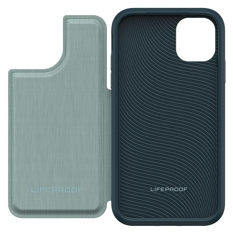 Lifeproof Flip Wallet iPhone 11 Groen - 5