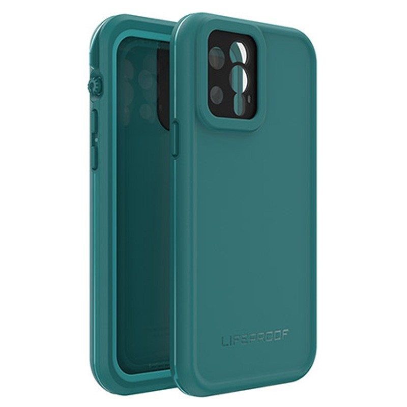 LifeProof Fre Waterdichte Hoes iPhone 12 Pro Blauw - 1