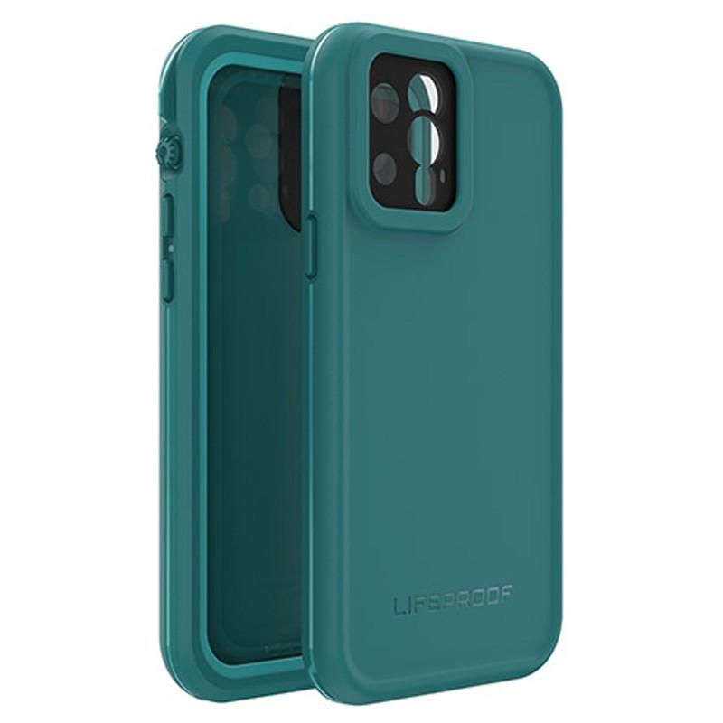 LifeProof Fre Waterdichte Hoes iPhone 12 Blauw - 1