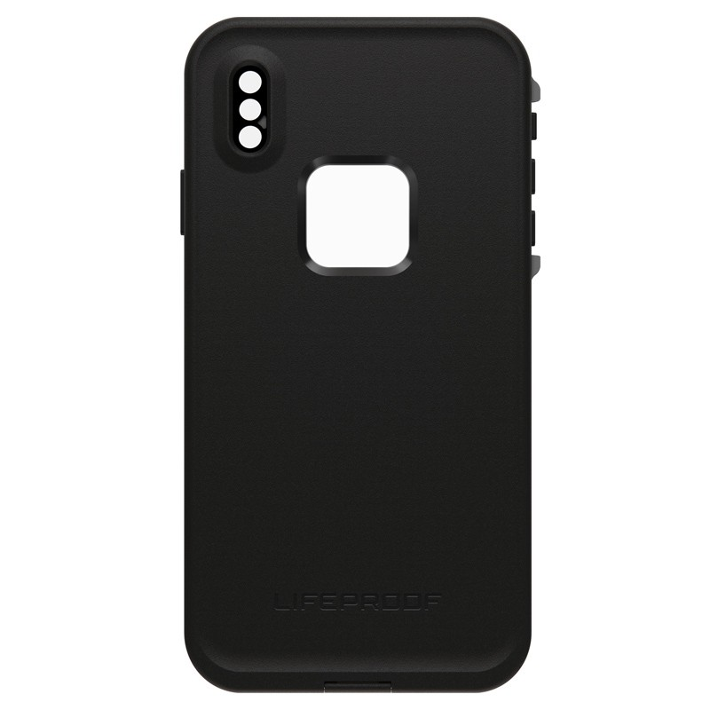 Lifeproof Fre Case iPhone XS Max Zwart (Asphalt Black) 02