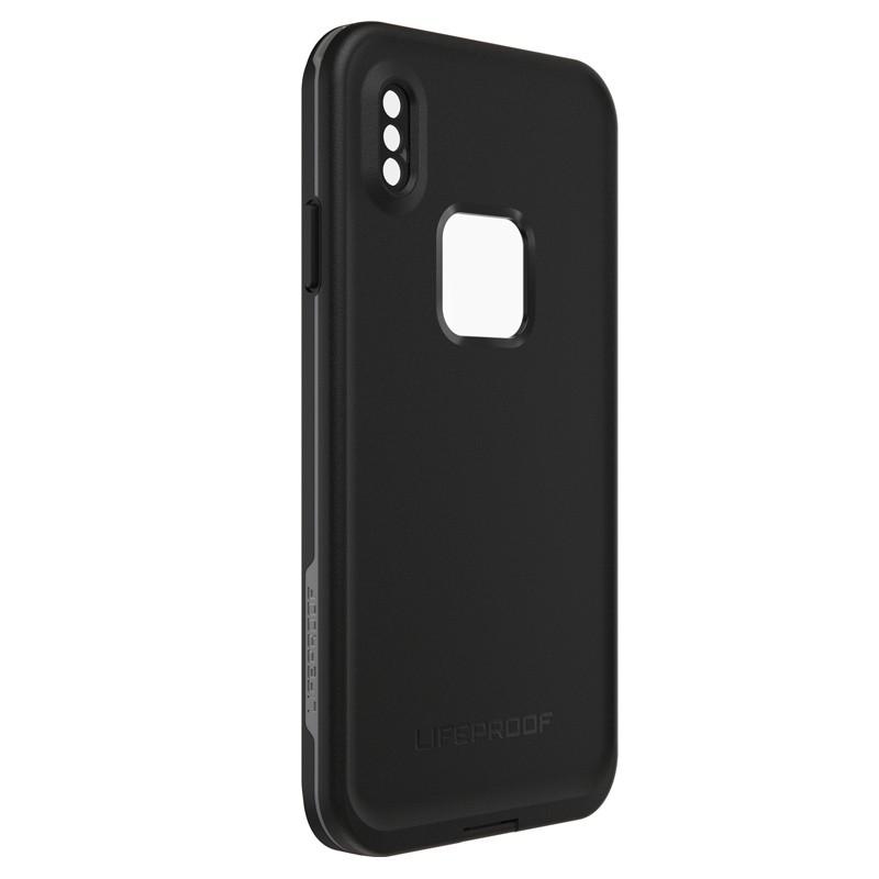 Lifeproof Fre Case iPhone XS Max Zwart (Asphalt Black) 04