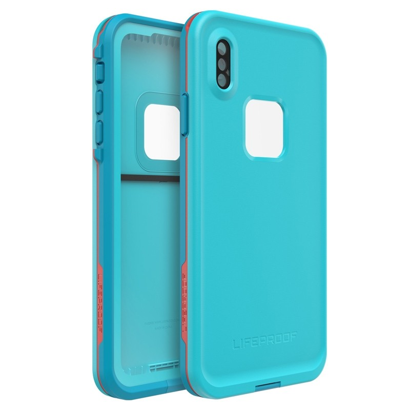 Lifeproof Fre Case iPhone XS Max Lichtblauw (Boosted) 01
