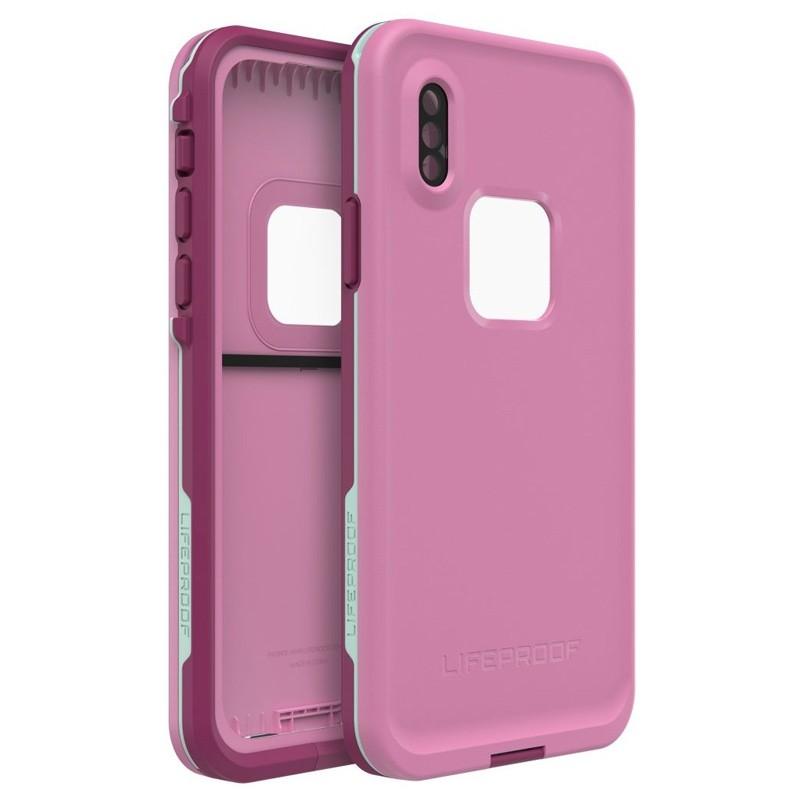 LifeProof Waterdichte Fre Case iPhone XR Frost Bite Roze 01