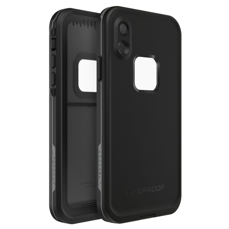 LifeProof Waterdichte Fre Case iPhone XR Asphalt Black Zwart 01