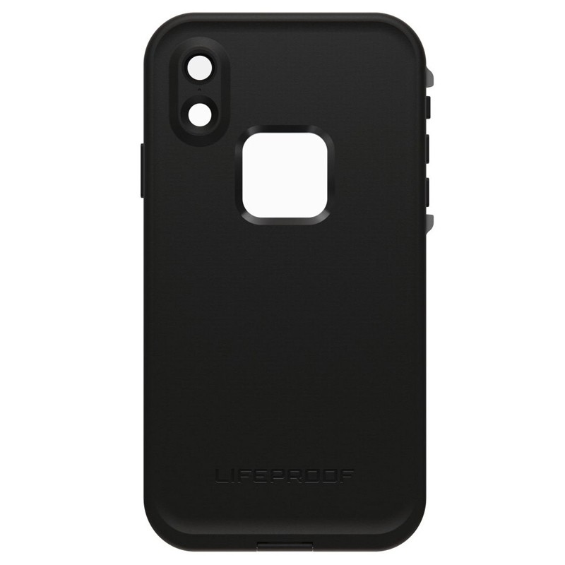 LifeProof Waterdichte Fre Case iPhone XR Asphalt Black Zwart 02
