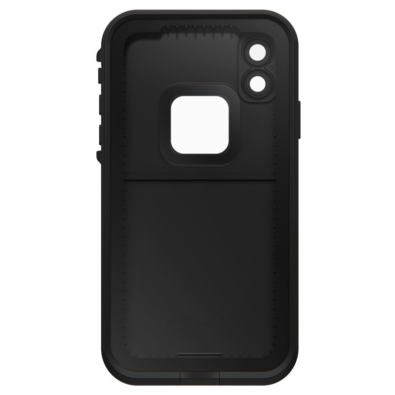 LifeProof Waterdichte Fre Case iPhone XR Asphalt Black Zwart 05