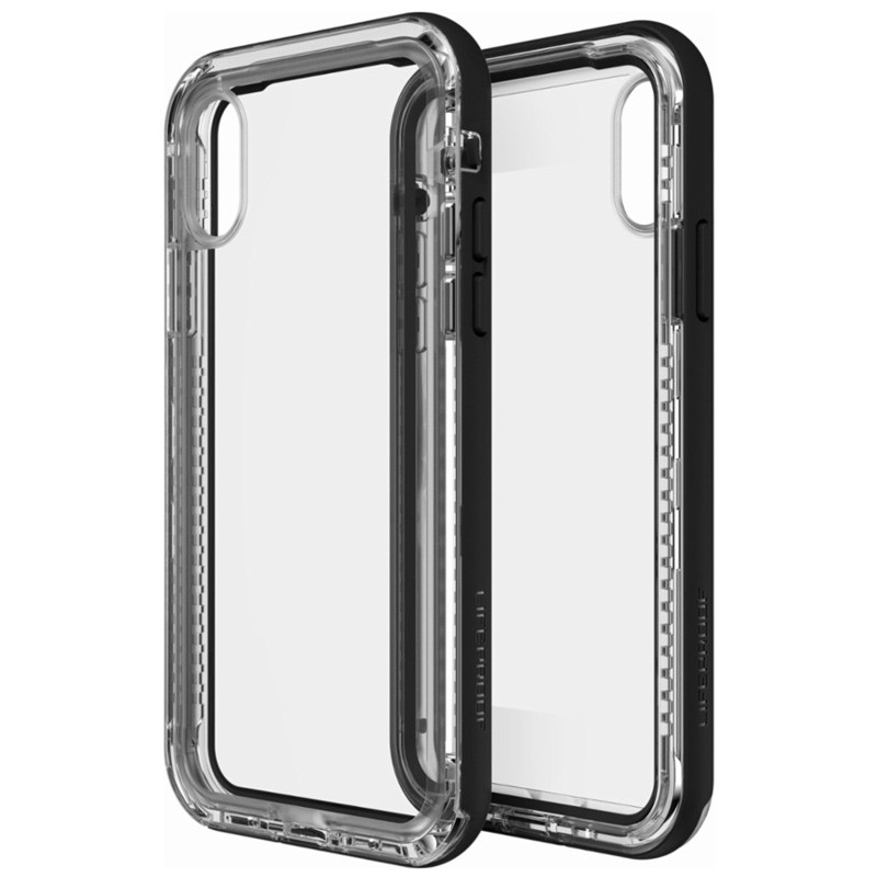Lifeproof Next iPhone X/Xs Case Black Crystal 01
