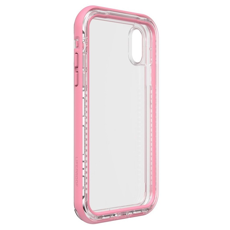LifeProof Next Extra Stevige iPhone XR Hoes Cactus Roze 05