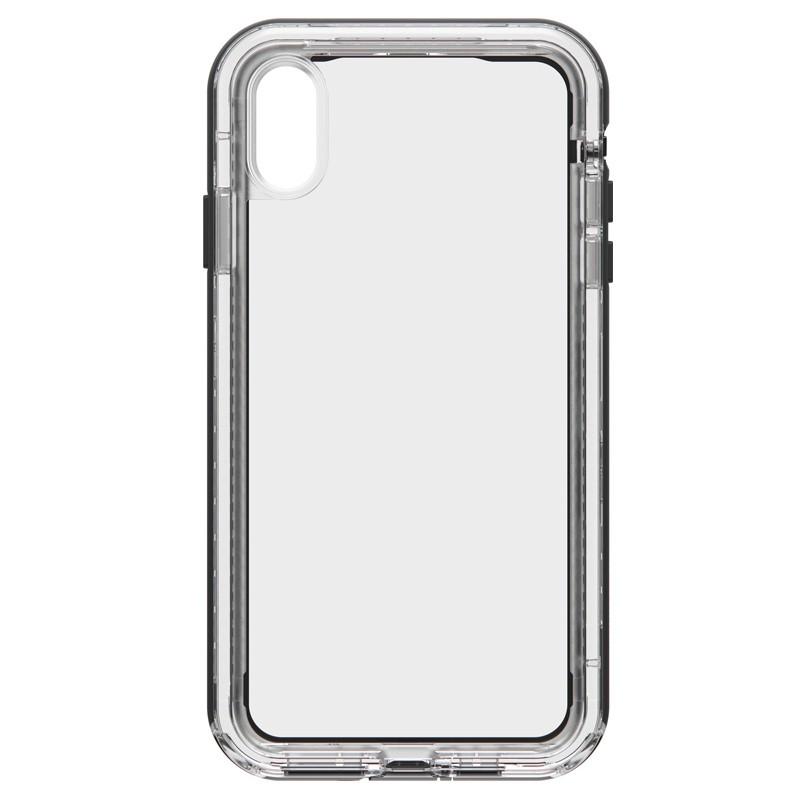 Lifeproof - Next Case iPhone XS Max Zwart (Black Crystal) 01