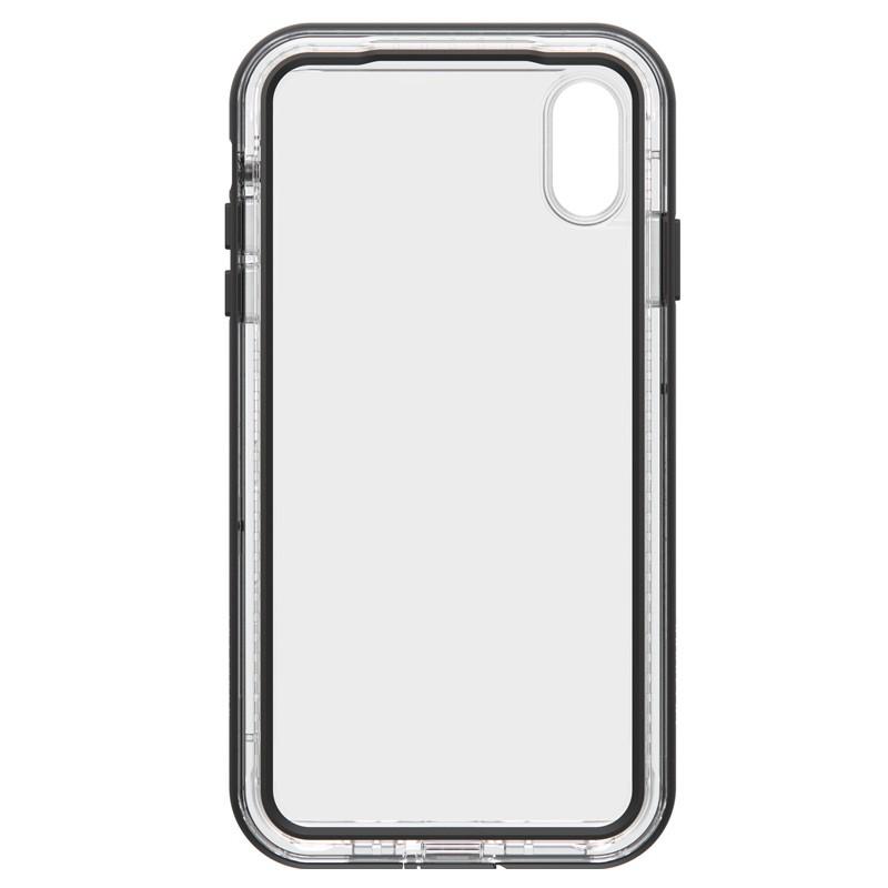 Lifeproof - Next Case iPhone XS Max Zwart (Black Crystal) 02