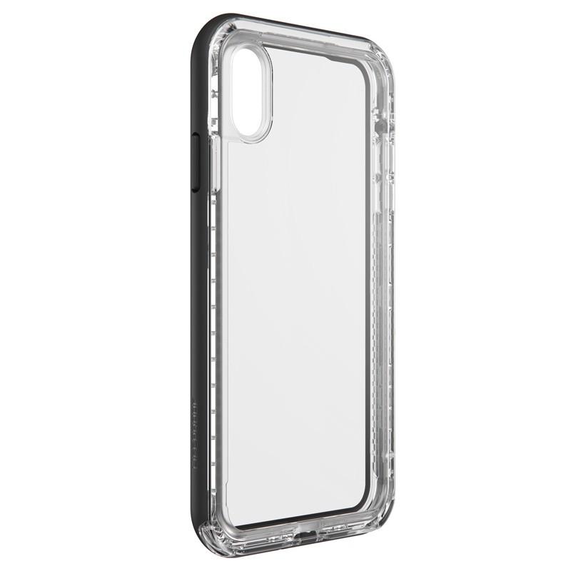 Lifeproof - Next Case iPhone XS Max Zwart (Black Crystal) 03