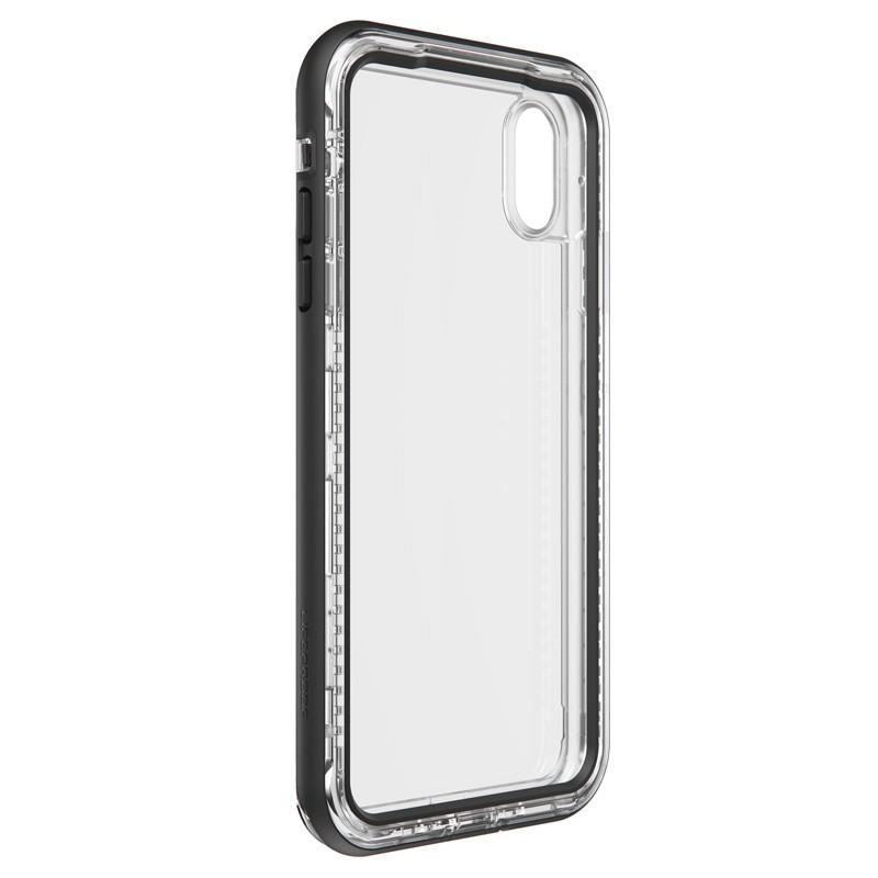 Lifeproof - Next Case iPhone XS Max Zwart (Black Crystal) 04