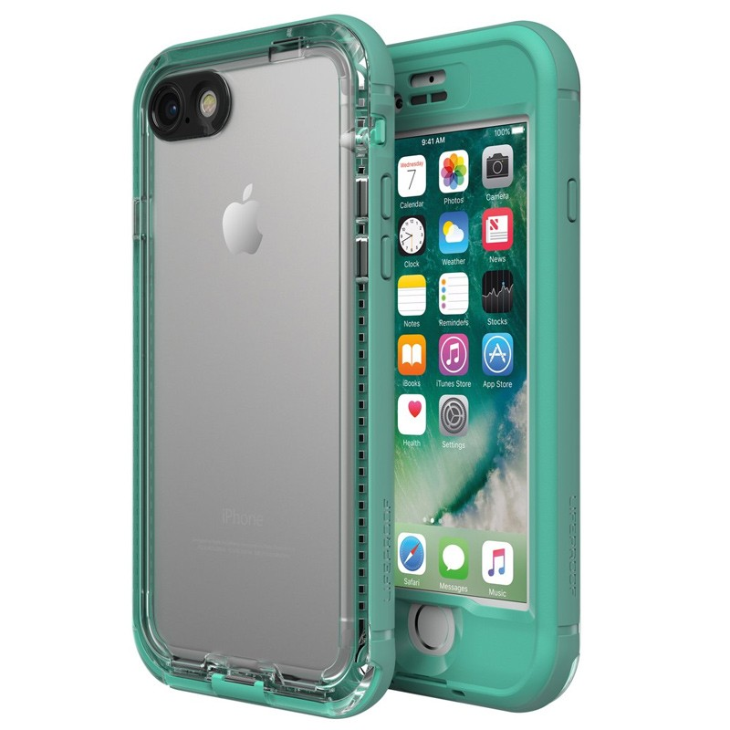 Lifeproof - Nuud Case iPhone 7 mermaid turqoise 01