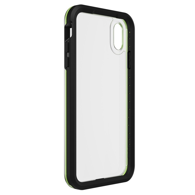 Lifeproof Fre Case iPhone XS Max Zwart / Groen (Night Flash) 05