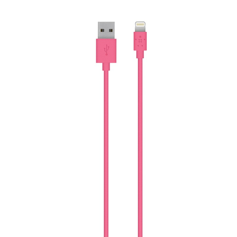 Belkin Lightning to USB kabel 1,2 meter pink - 1