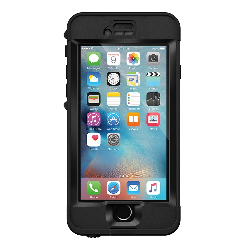 Lifeproof Nüüd iPhone 6/6S Black - 1