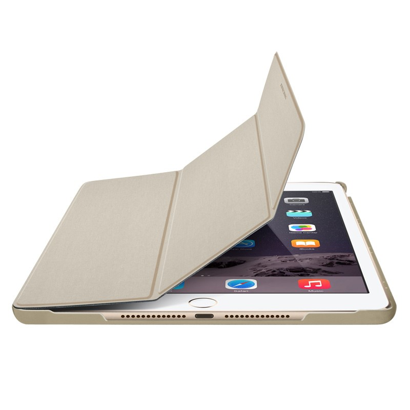 Macally - Bookstand iPad 9,7 inch 2017 Gold 01