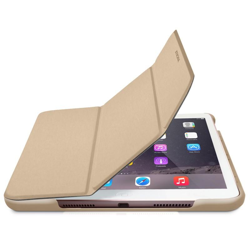 Macally - Bookstand iPad Pro 9,7 / iPad Air 2 Gold 01