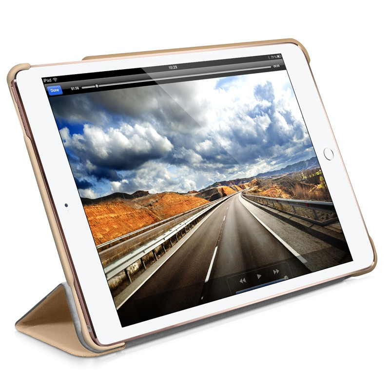 Macally - Bookstand iPad Pro 9,7 / iPad Air 2 Gold 08