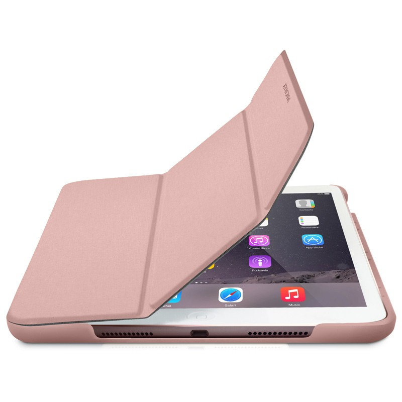 Macally - Bookstand iPad Pro 9,7 / iPad Air 2 Rose Gold 01
