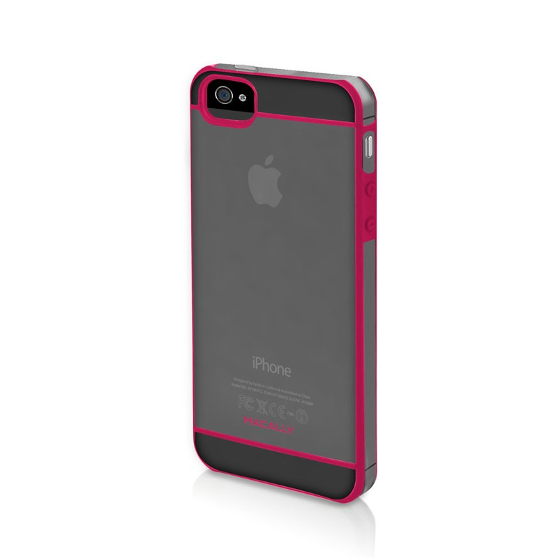 Macally Curve Case iPhone 5 (Pink) 01