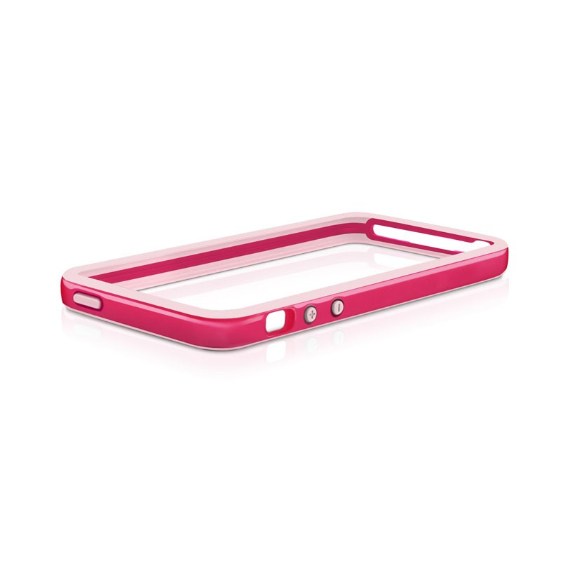Macally Frame iPhone 5 (Red) 01